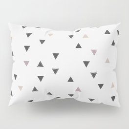 DOWN UP / scandi white / warm grey / flax / lavender Pillow Sham