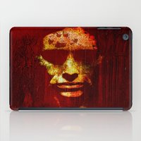 witch iPad Cases featuring witch by Ganech joe