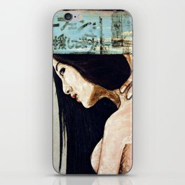 Cradle to the tomb iPhone Skin
