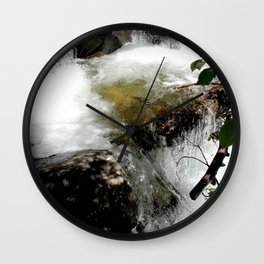 Cascades on Fall Creek in the Weminuche Wilderness, No. 2 of 2 Wall Clock