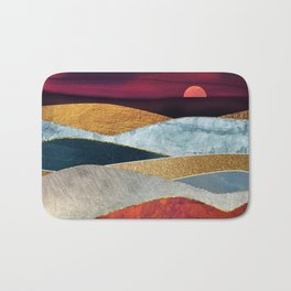 Crimson Sky Bath Mat