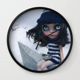 Erregiro Blythe Custom Doll The Hope Sailor Wall Clock