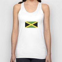 jamaica Tank Tops featuring jamaica country flag  by tony tudor