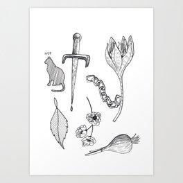 Tatts Art Print