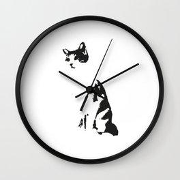 PisiPisi Wall Clock