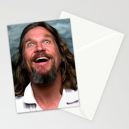 Jeff Bridges As The Dude Stationery Cards