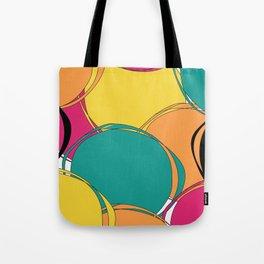 Abstract Circls Tote Bag