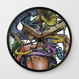 Crazy 4 Music - Mr.Klevra Wall Clock