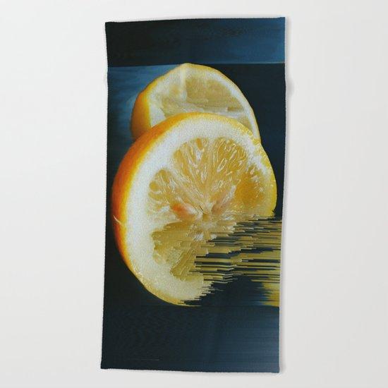 Lemony Good V.2  Beach Towel
