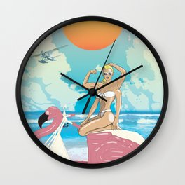 Gora of the Water  Wall Clock