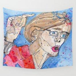 Senator Elizabeth Warren Wall Tapestry