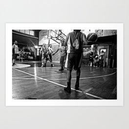 Chilean Basketball Art Print
