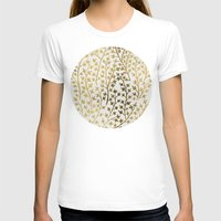 micklyn T-shirts featuring Gold Ivy by Cat Coquillette