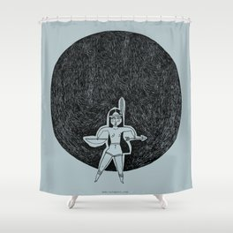 Haz el indio Shower Curtain