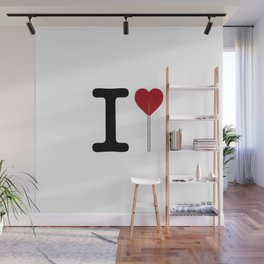 I love sweet love Wall Mural