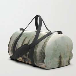 Mountain Black Bear Duffle Bag