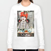 """courage Long Sleeve T-shirts featuring """"Courage"""" by Crow's Feet Designs2"""