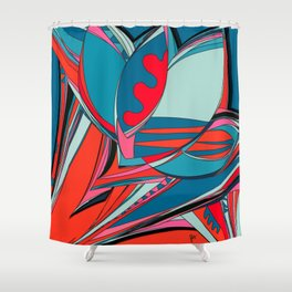 Libertad de Color Part 2 Shower Curtain