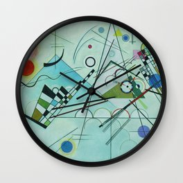 Vassily Kandinsky Composition VIII, 1923 Wall Clock