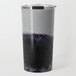 Black Pug Travel Mug