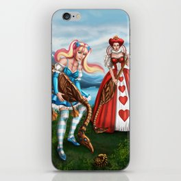 Steampunk Gothic Lolita Alice Croquet iPhone Skin