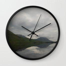 Still Irish Reflections Wall Clock