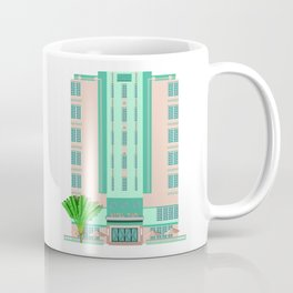 Miami Art Deco Hotel Coffee Mug