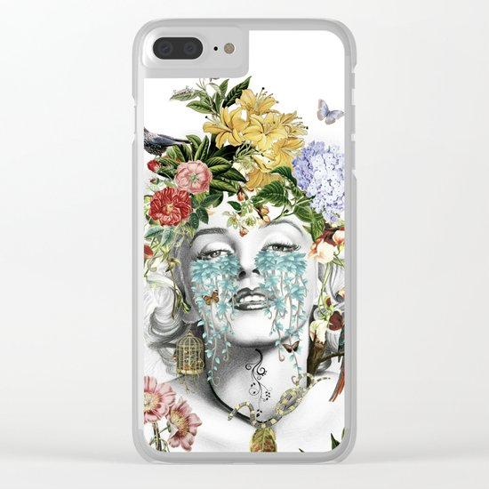 Vanitas Marilyn Clear iPhone Case