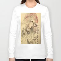 mucha Long Sleeve T-shirts featuring mucha cholo by paolo de jesus