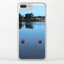 Mississippi River Clear iPhone Case