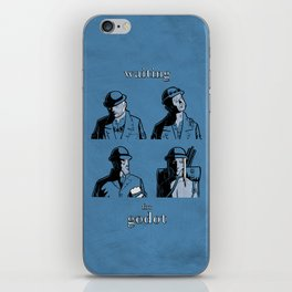 Waiting for Godot iPhone Skin