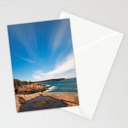 Acadia National Park - Thunder Hole Stationery Cards