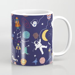 Galaxy space Coffee Mug