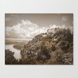 Ha Ha Tonka-In Sepia Canvas Print