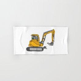 Digger excavators dredger Hand & Bath Towel