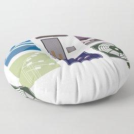 Modest Mouse Floor Pillow