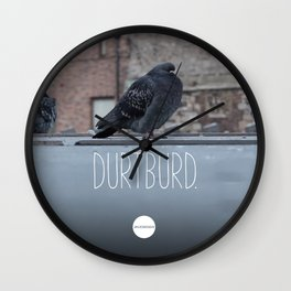 DurtBurd Wall Clock