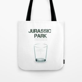 Jurassic Park - Alternative Movie Poster Tote Bag