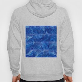 blues en tous sens / square blues Hoody