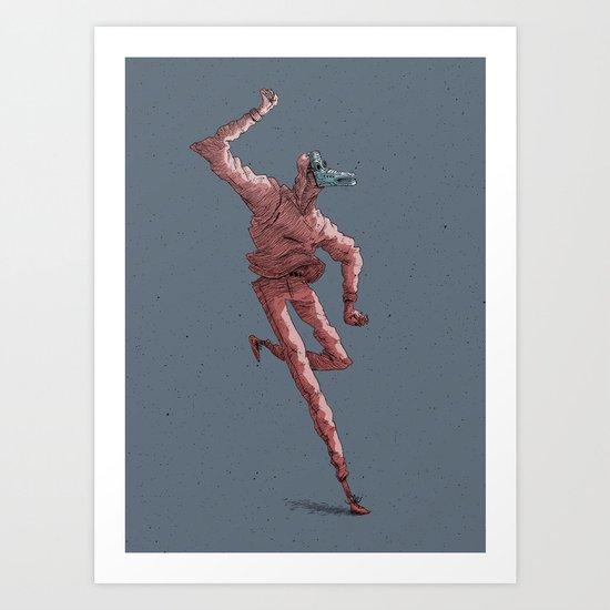 Pagan Dog #1 Art Print