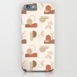 Desert Dunes Pattern iPhone Case