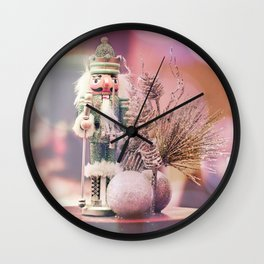 Dreamy nutcrackers 2 Wall Clock