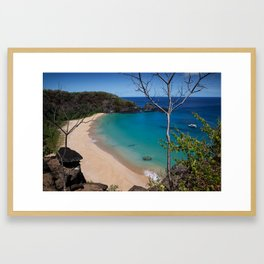 Magic Island - Fernando de Noronha Framed Art Print