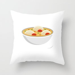 Matzo Ballin Jew Or Chef Gift Throw Pillow