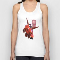 big hero 6 Tank Tops featuring Big Hero 6  by store2u