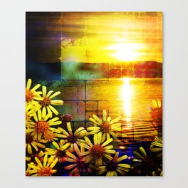 GC 40 Sunfower Sunset Canvas Print
