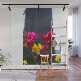 Tulips In NYC Wall Mural