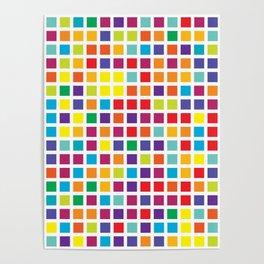 City Blocks - Rainbow #494 Poster