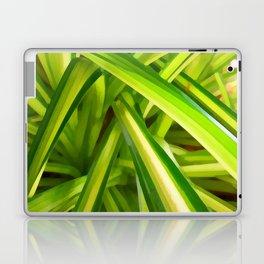 Spider Plant Leaves Laptop & iPad Skin