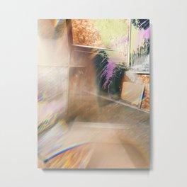 Spatter Distortion Metal Print